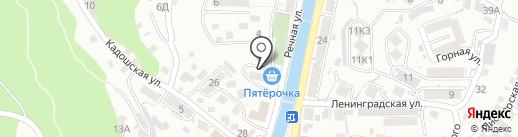 Эксперт-Сервис на карте Туапсе