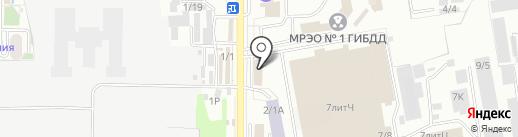 МЕТАКО ЮГ на карте Краснодара
