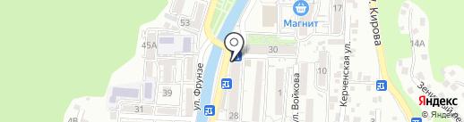 Пятёрочка на карте Туапсе