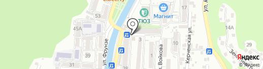 Фонбет на карте Туапсе