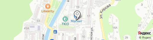 Телеателье на карте Туапсе