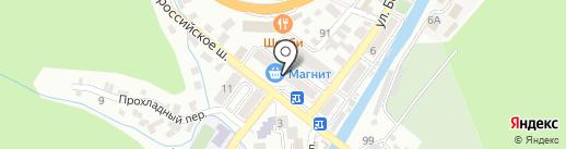 КБ Центр-Инвест на карте Туапсе
