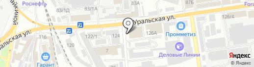 Декор Про на карте Краснодара