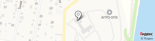Паллетэра на карте Семилуков