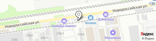 Гарант Деталь Сервис на карте Краснодара