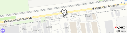 КипАвтоматик на карте Краснодара