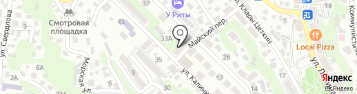 Отдел МВД России по Туапсинскому району на карте Туапсе