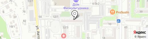 ЭкоСервис на карте Краснодара
