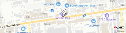 Оптима Сервис на карте Краснодара