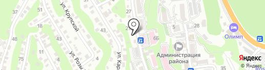 Туапсеторгтехника на карте Туапсе