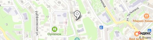 Туапсинский социально-педагогический колледж на карте Туапсе