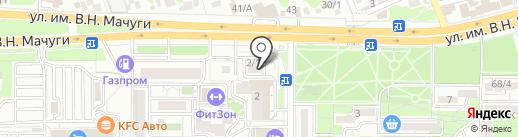 SMOKE LOUNGE на карте Краснодара