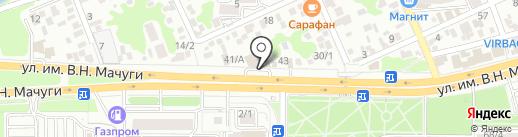 Fit Zone на карте Краснодара