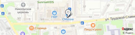 Clinic Mobile на карте Краснодара