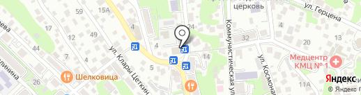 Туапсинский участок Краснодарского краевого управления инкассации на карте Туапсе