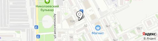 Академия современной стоматологии на карте Краснодара