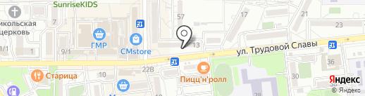Город 23 на карте Краснодара