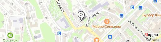 ОСК на карте Туапсе