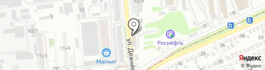 De Motors на карте Краснодара