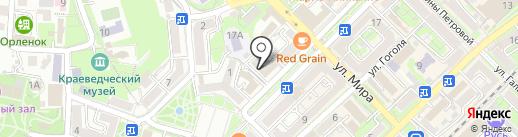 Прованс на карте Туапсе