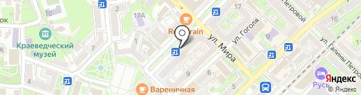 Магазин-бистро на карте Туапсе