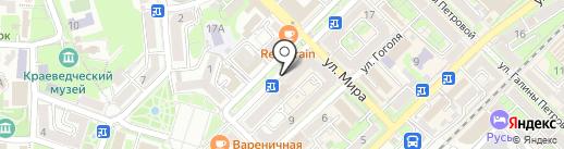 Clover на карте Туапсе
