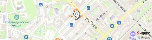 Milan на карте Туапсе