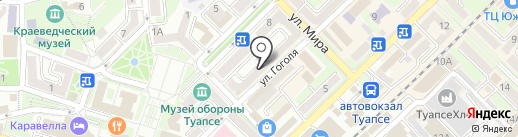 СК-Мед на карте Туапсе