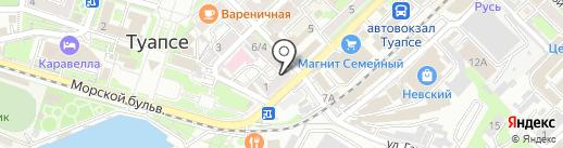 Calvin Klein Collectoin на карте Туапсе