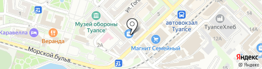 Мастерская по ремонту сотовых телефонов на карте Туапсе