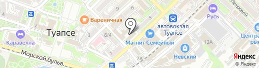 Ремонтная мастерская на ул. Маршала Жукова (г. Туапсе) на карте Туапсе