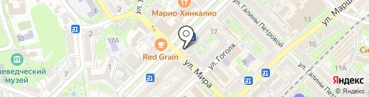 Mobi на карте Туапсе