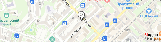 Единый информационно-расчетный центр на карте Туапсе