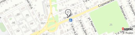 Turbobox на карте Краснодара