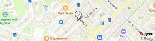 Информ-сервис на карте Туапсе
