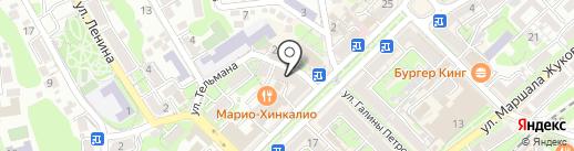 Бюро переводов на карте Туапсе