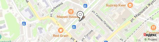 Fastmoney на карте Туапсе