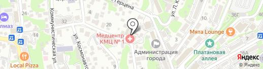 Дизайн Центр на карте Туапсе