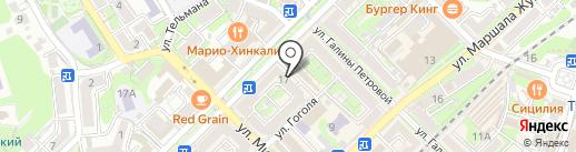 Агролюкс на карте Туапсе