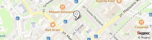 Каспер на карте Туапсе
