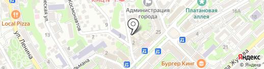 Росгосстрах банк, ПАО на карте Туапсе