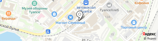 Охрана ТТР на карте Туапсе