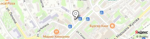 Pandora на карте Туапсе