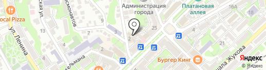 Рекламно-техническая фирма на карте Туапсе