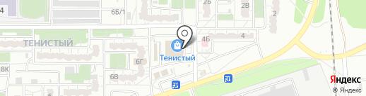 Корсар на карте Воронежа