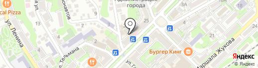 Максавит на карте Туапсе