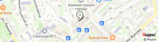 РЕМАРКА на карте Туапсе