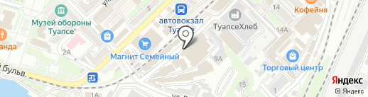 ДНС на карте Туапсе