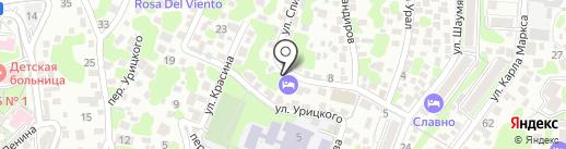Гостиница на карте Туапсе