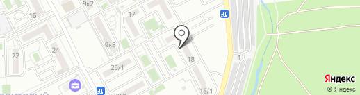 Деловой мир на карте Краснодара